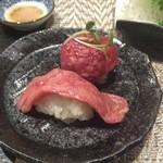 90697503 - 肉寿司2種