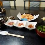 見晴旅館 - 料理写真:[2018/07]桜えびランチ(1300円)