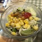 ケニーズハウスカフェ - サラダ