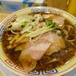 サバ6製麺所 - サバ醬油そば