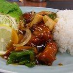 豊園 - 酢豚ランチ