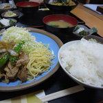 907178 - ショウガ焼き定食