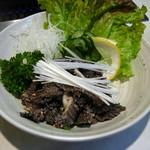 焼肉レストラン ソウル - センマイ刺し