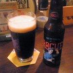 9070113 - モカポーター。アメリカのビールなのに瓶がほんのりソ連風……。