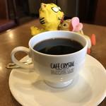 珈琲館 麗門 - コーヒーカップのロゴは・・・どこのやつや??