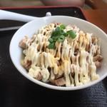 ラーメン幸味 - 半チャーマヨ丼