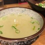まぜそば 凜々亭 - 新台湾まぜそば スープ
