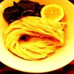 90705232 - オマール海老とトマトのつけ麺 麺