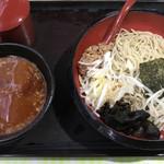 イツワ製麺所食堂 - 酸辣味噌つけ麺  890円