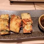 博多牛臓 - 海鮮チヂミ。