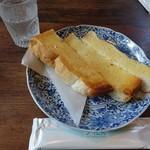 珈琲達磨堂 - バタートースト350円