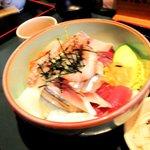 味工房 おお木 - 海鮮丼 900円