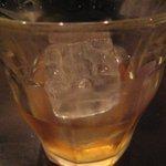 Standing Bar musso - ウイスキーロック(確かマッカラン)