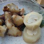 イッスイカシワ - 大根で巻かれた鶏ササミは美味い