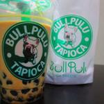 ブルプル - 頂いた『タピオカミルクティー』美味しかったです。