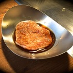 乃奈加 お好み焼き - 内観写真:ミニ山芋焼き