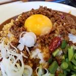 台湾ケンさん - 台湾ミンチがたっぷり、卵とも良く合います