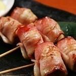 ウインナーベーコン串焼き(2本)