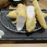 イマカツ - ささみかつ膳1100円