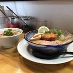 麺屋 桜息吹 - 麺&丼