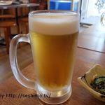 浜焼太郎 - 生ビール