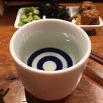 大衆酒場 なんで、や - 純米吟醸「日本刀」480円也。