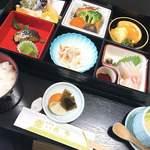 満潮 - 料理写真:松花堂弁当