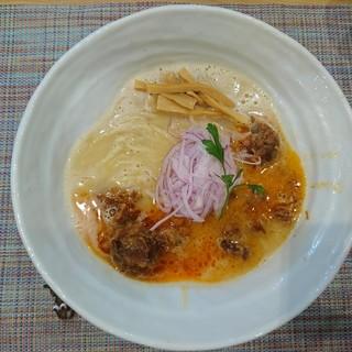 麺や厨 - 料理写真:2018年8月 トロ軟骨うっ鶏そば 900円