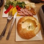 和モダン個室バル×チーズ&肉 ハレルヤ - シカゴピザ・1,980円