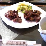 伊達の牛たん本舗 本店 - 牛たん焼き定食(塩、みそMIX)