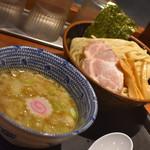 舎鈴 - つけ麺・並盛(730円)2018年8月