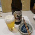 志むら寿司 - 瓶ビール