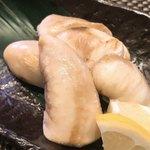 若鮨 - 虎フグの白子焼き アップ
