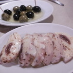 90722103 - オリーブ、長芋とモッツァレラチーズのオーブン焼き