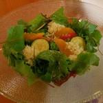 Raunjikinkei - オレンジとクスクスのサラダ