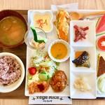 べじらいす - 料理写真:ベジプレート1300円