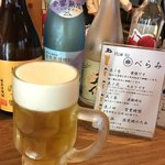 べらみ - 生ビールはレーベンブロウ