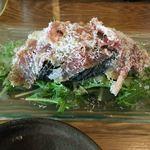 べらみ - 水茄子と生ハムサラダ430円