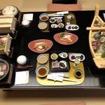 やぎさわ荘 - 料理写真:季節の旬味