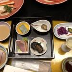 やぎさわ荘 - 前菜 季節の四種