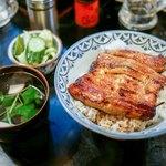 川勢 - ☆鰻丼 1800円