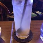 ロペ - アイス柚子ティー 450円