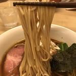 90731166 - 【2018.8.2】自家製の中加水細麺。