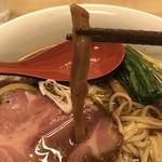 麺処 有彩 - 【2018.8.2】出汁をよく吸ったメンマ。