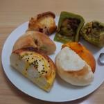小さなパン工房 オサンポ - 料理写真: