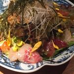 魚河岸亭 旬 - 海鮮サラダ