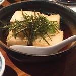 魚河岸亭 旬 - 揚げ出し豆腐