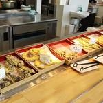 名水うどん かたしな食堂 - 季節の天ぷら