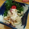 味の八幸 - 料理写真:お通し(北寄貝の酢の物)