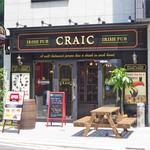 IRISHPUB Craic - 外観(入口)